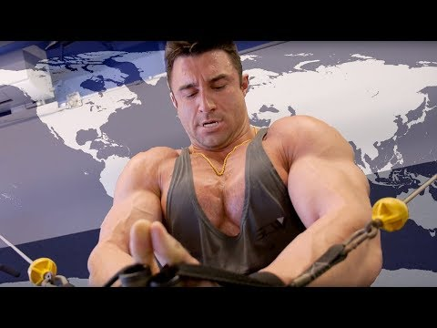 Complete International Chest Day Workout Routine With Jonny Abs