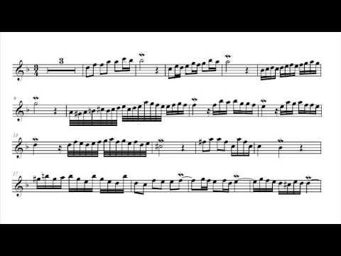 Alessandro marcello adagio in d minor music sheet