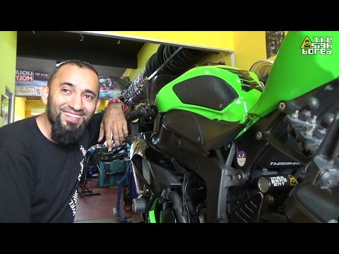 Kawasaki Ninja's day at the workshop #16
