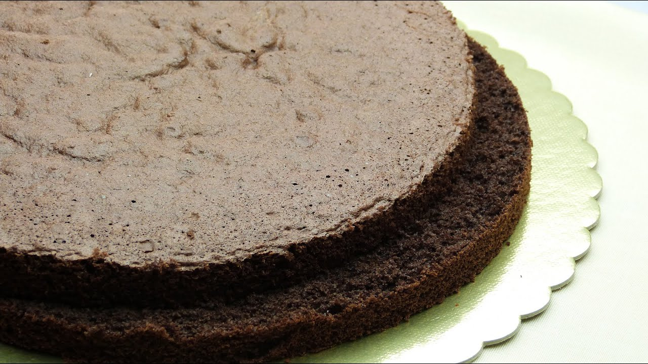 Chocolate sponge cake recipe 2 eggs