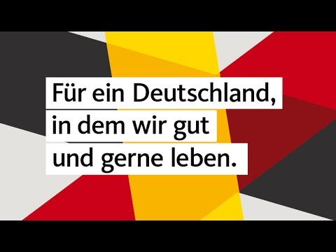 Die Kampagnen-Werbelinie der CDU zur Bundestagswahl 2017