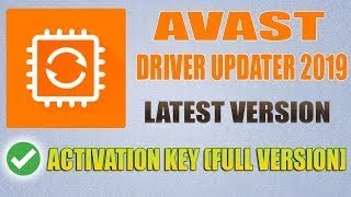 Avast Driver Updater 2019 Activate Serial Key 100 Working