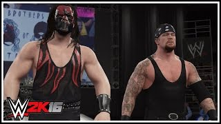 WWE 2K16 - Brothers Of Destruction Entrance, Double Chokeslam & Winning Animation!