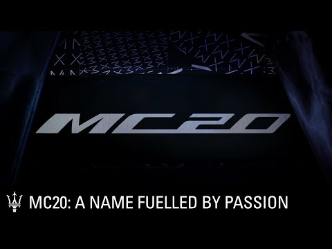 Maserati MC20: a name fuelled by passion