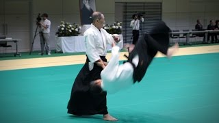 Aikido Demonstration - Toshiuki Arai - 12th IAF Congress (2016) [Aikikai]
