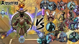 Magical Monk Vs All Bosses Shadow Fight 2