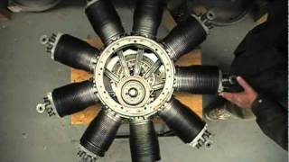 LeRhone Rotary Engine Inner Workings
