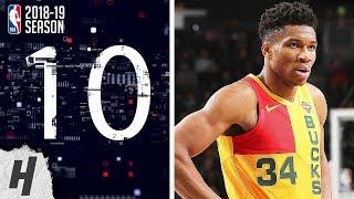 NBA Top 10 Plays of the Night | January 21, 2019