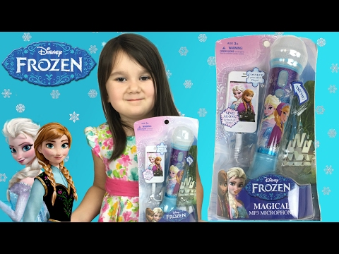 Disney Frozen Magical MP3 Microphone  ChickadeeChirps