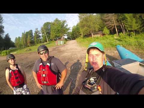 Walter and Tyler go fishing and rafting on the Ottawa River
