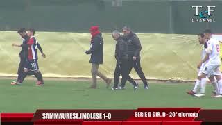 Serie D Girone D Sammaurese-Imolese 1-0