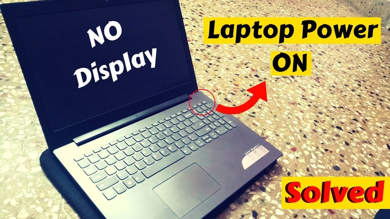 Lenovo Ideapad 320 Series || Power ON but No Display Problem Solved || TAMIL
