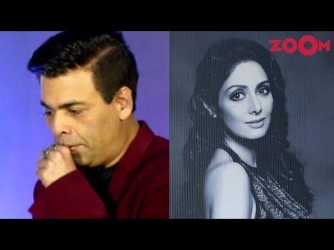 Karan Johar gets EMOTIONAL while launching a book based on Sridevi | Bollywood News