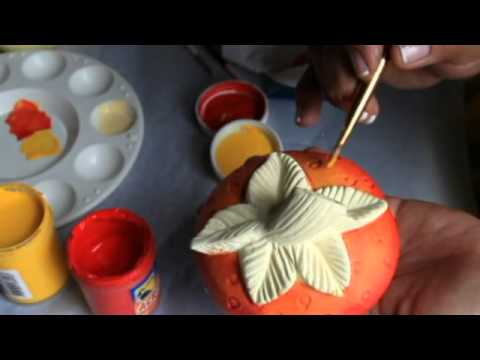 Africanas pintadas en ceramica doovi for Tecnicas para esmaltar ceramica