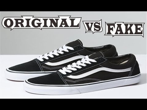 Vans Old Skool Original   Fake - YouTube 1e539095ec76