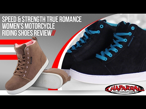 Speed And Strength Womens True Romance Moto Shoes