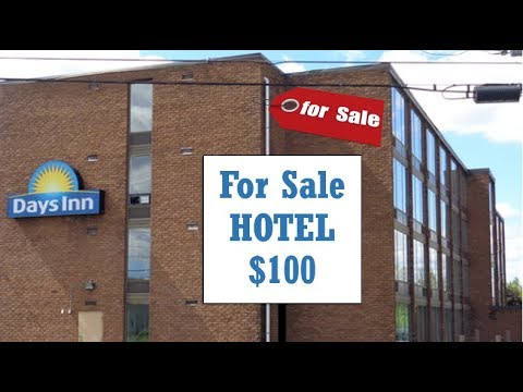 $1.6 Million Dollar NY HOTEL Going To Tax Sale For $100!