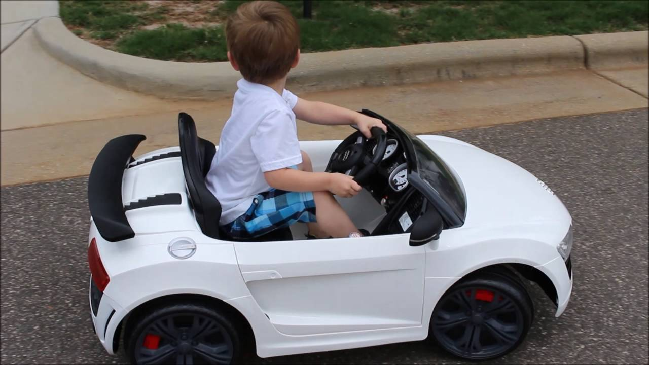 Driving Birthday Suprise Toysrus Audi Power Wheels Car YouTube - Audi 6v car