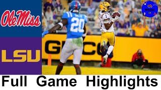 Ole Miss Vs LSU Highlights (Over 100 Combined Points!) | Week 16 | 2020 College Football Highlights