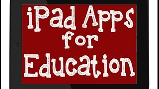 iPad Apps for Education - Bloom's Digital Taxonomy & Using iPads for Autism Education