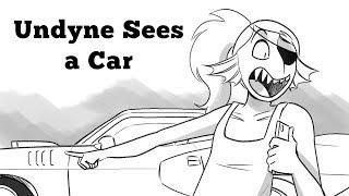 Undyne Sees a Car