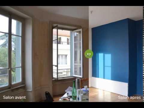 Rénovation appartement : avant / après | Optiréno - YouTube