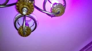 Color led lamp from GearBest - цветная лед лампочка с пультом от магазина ГирБест