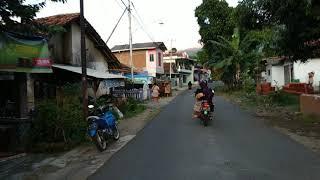 Jalan Desa di Kuningan, Jawa Barat