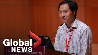 Scientist who claims to have made gene-edited babies speaks in Hong Kong