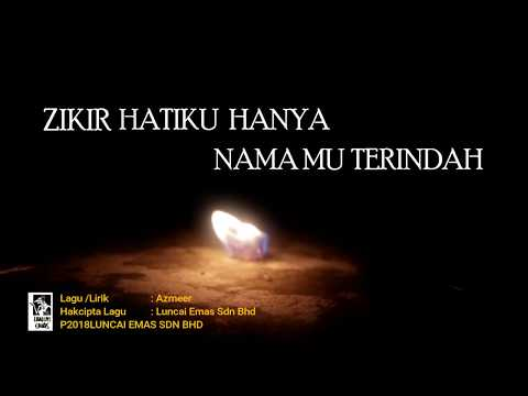 Usop - Nama Terindah (OST Badang) - Official Lyric Video