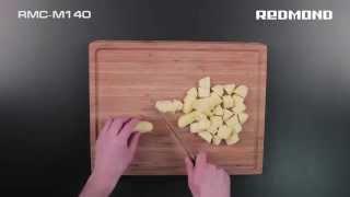 Грибной суп пюре с плавленным сыром в мультиварке REDMOND RMC-M140. Рецепт для мультиварки.