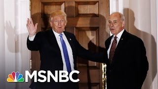 Ex-General John Kelly Tapped For Donald Trump's Head Of Homeland Security   Andrea Mitchell   MSNBC