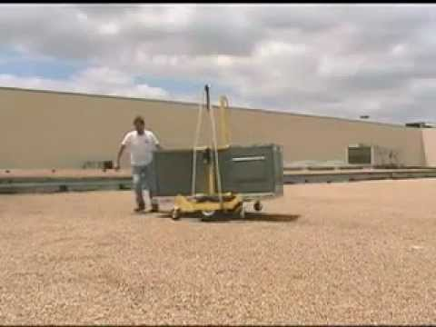 PRO-LIFT - Easily Move HVAC Units On A Rooftop (Smart HVAC Products)