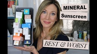 Best & Worst! Testing Mineral Sunscreen for Face 2018