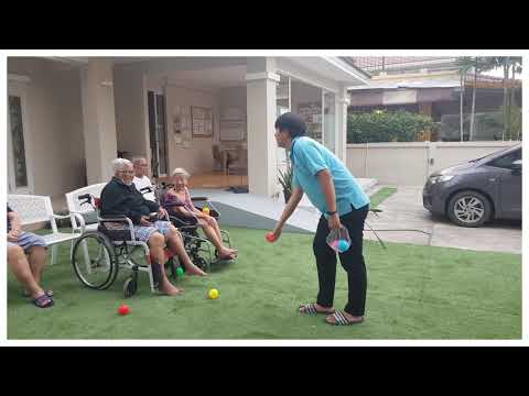 กิจกรรมโยนรับลูกบอล By CNH NURSINGHOME