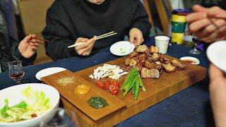 돼지고기 3키로 맛있게 먹는법 : 수비드 등갈비+msg…