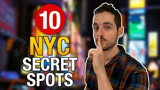 Gambar cover 10 AMAZING Hidden Gems & Secret Spots in NYC ! (MUST VISIT)