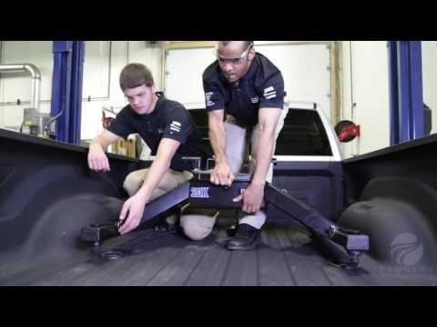 Installation of a Fifth Wheel Hitch on a 2015 Ram 3500 ...
