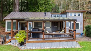 Amazing Beautiful Cottage Tiny House For Sale By Wildwood Lakefront Cottages