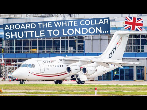 TRIPREPORT | CityJet (Economy) | Amsterdam - London City | Avro RJ85