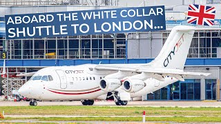 TRIPREPORT | CityJet (Economy) | Amsterdam - London City | Avro RJ85