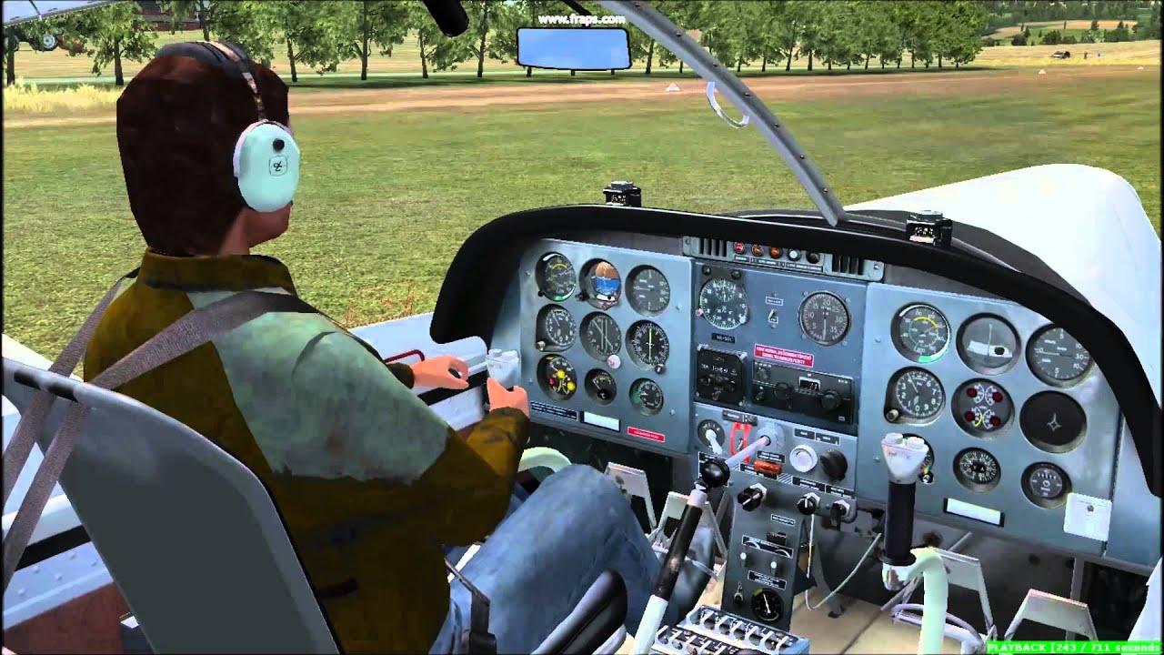 FSX BEST FREEWARE SCENERY (Part 2) ORBX E049 Laufenselden airstrip, Germany  by GrantM