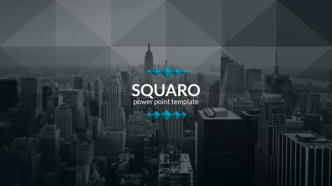 Squaro powerpoint template youtube squaro powerpoint template toneelgroepblik