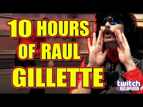 10 HOURS of Dr.Disrespect RAUL Gillette The Best a Man Can Get (Soundtrack by 199X)