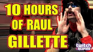 10 HOURS of Dr.Disrespect RAUL Gillette The Best a Man Can Get…