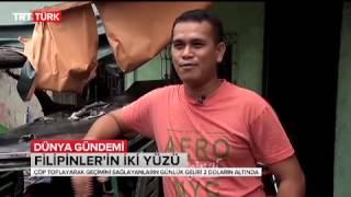 Filipinler'in varoşlarında yaşam