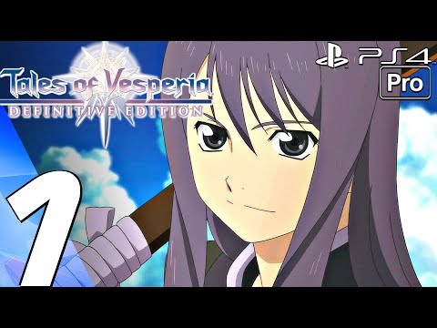 Tales Of Vesperia Definitive Edition - Gameplay Walkthrough Part 1 - Prologue (Full Game)