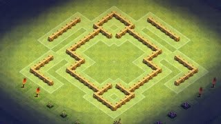 Clash of Clans - TH5 Farming Base (XFactor) store GOLD and ELIXIR