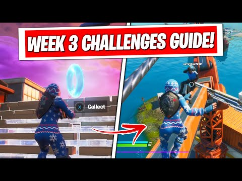 Fortnite Season 3 Week 3 Challenges Guide & Locations! (FULL CHALLENGES FAST & EASY)