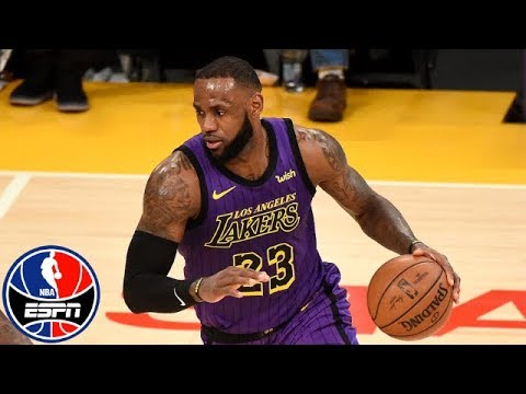 LeBron James goes off for 44 points, becomes NBA's 5th all-time scoring leader | NBA Highlights
